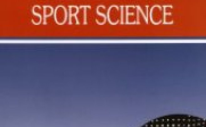 "The latest journal ""Sport Science"""