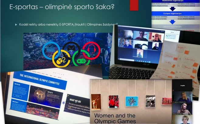 LOA online session ''Human rights in sports''